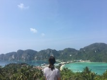 Hiked up to Phi Phi's viewpoint